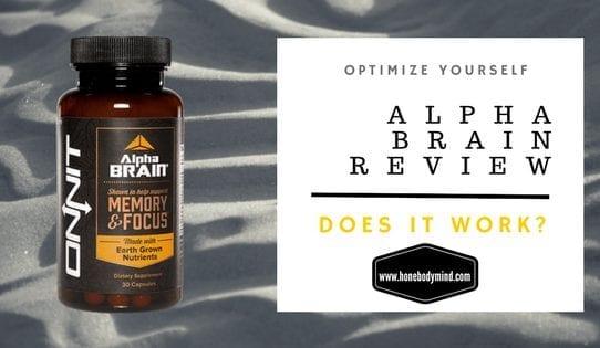 alpha brain review bottle