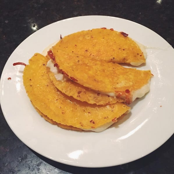 cheese quesadillas grilled
