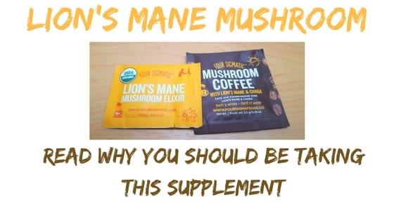 lion mane mushroom coffee packets