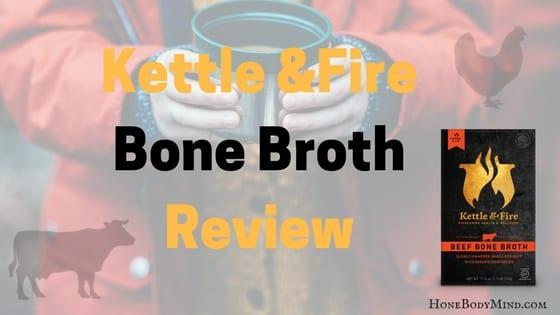 Lady holding bone broth
