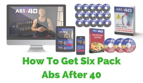 six pack abs after 40 program