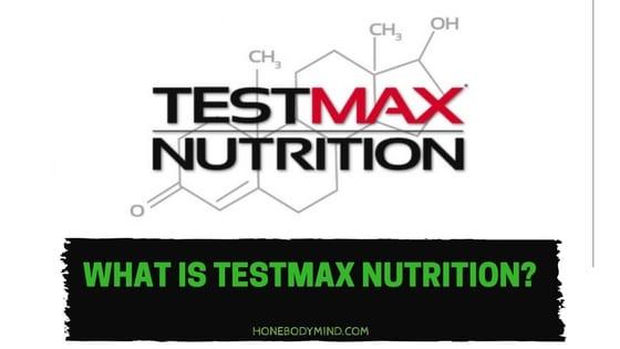 testmax nutrition logo