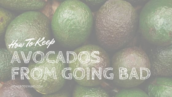 bunch of avocados