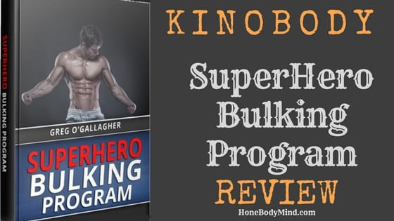 kinobody superhero bulking program