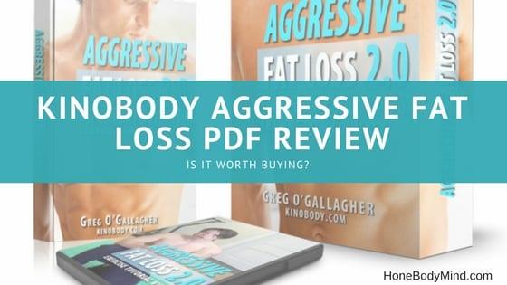 kinobody aggressive fat loss marketing material