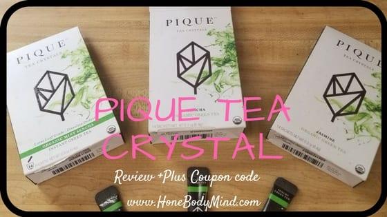 three packets of pique tea
