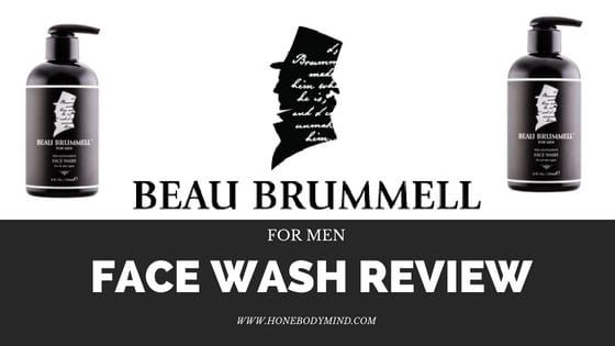 beau brummell face wash