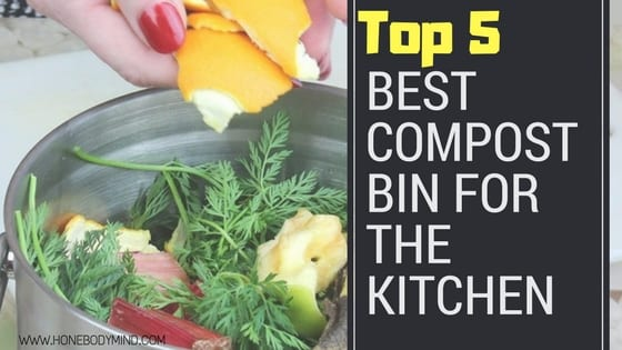picture of compost bin kitchen