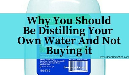 picture of water bottle distilled