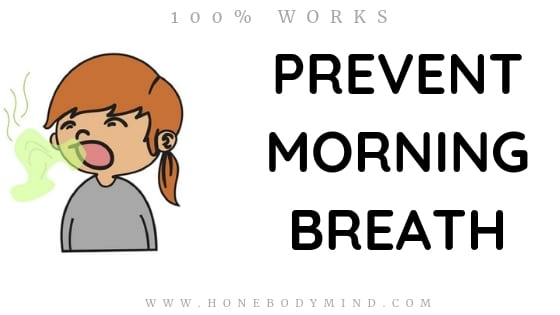 picture cartoon girl breathing bad breath