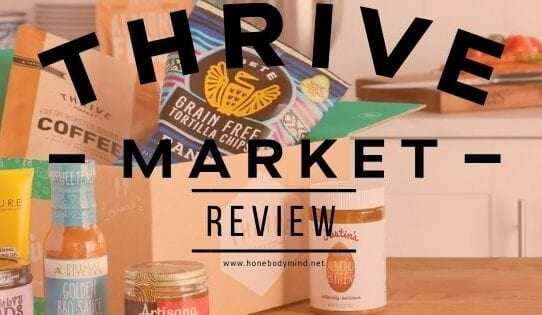 picture of products from thrive market review