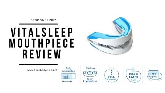 vitalsleep mouthpiece showing features