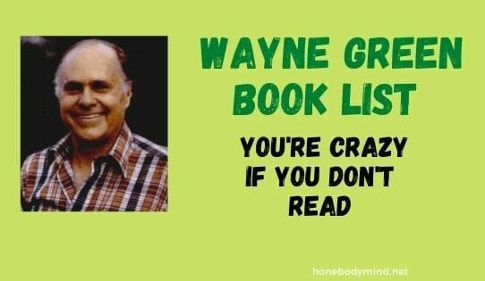 picture of wayne green you're crazy if you don't read