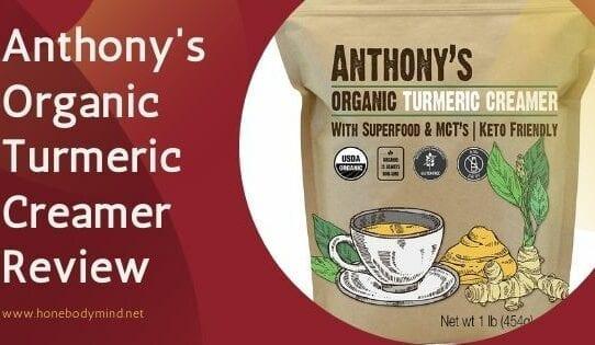 bag of anthony's turmeric creamer