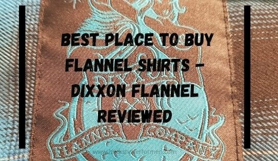 picture of dixxon flannel mariner shirt tag