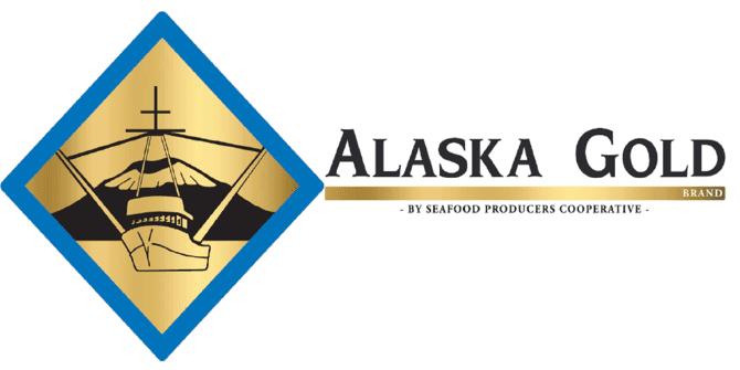 alaska gold seafood logo