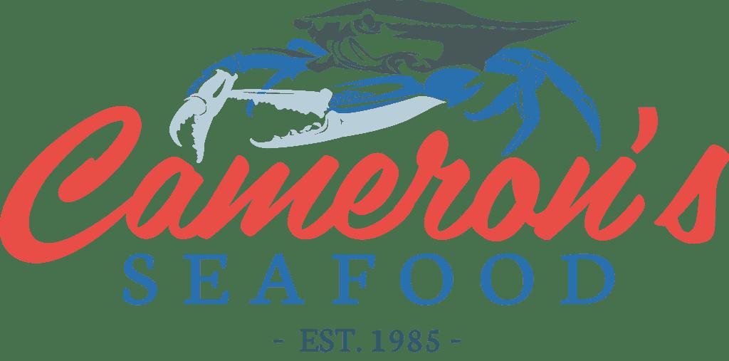 transparent cameron's seafood logo