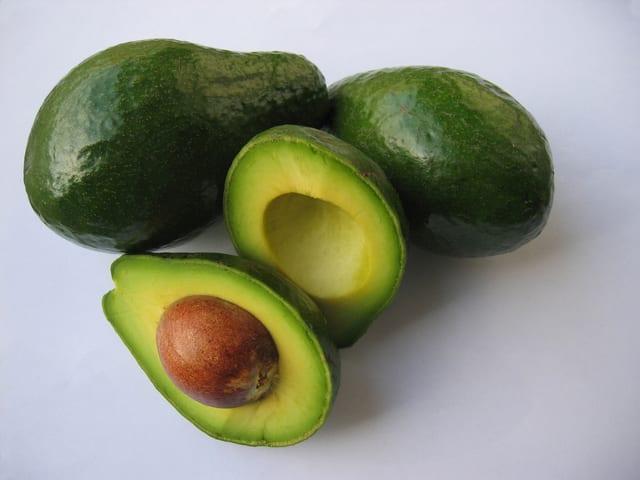 four avocados green