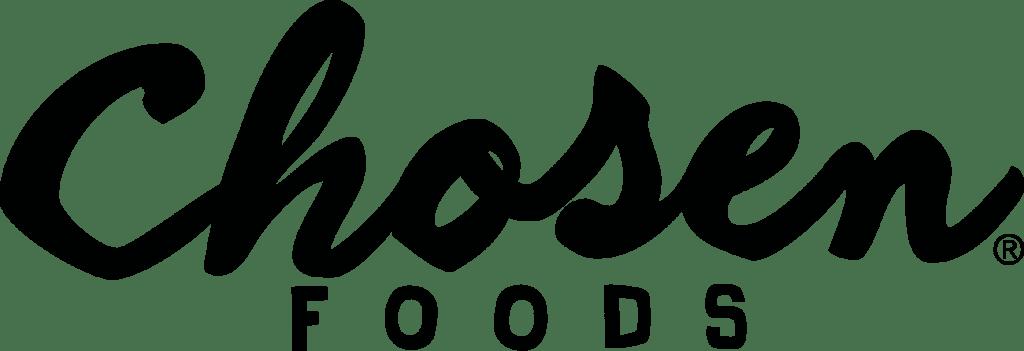 black chosen foods logo