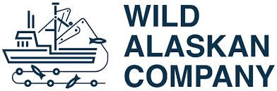 black and white wild alaskan company logo