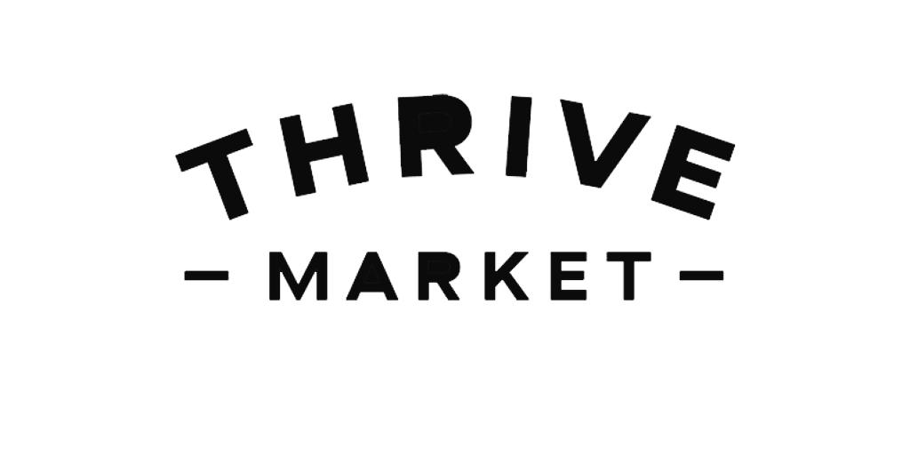 thrive market logo black