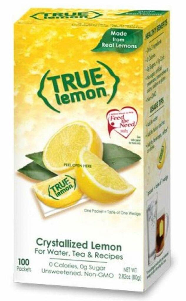 true lemon 100 packet box