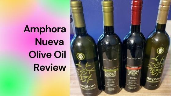 amphora olive oil review