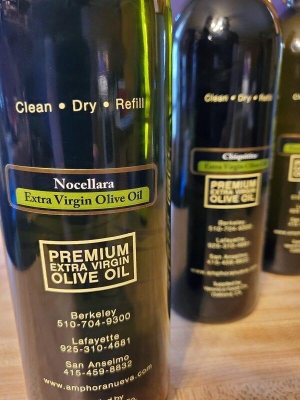 amphora olive oil bottles