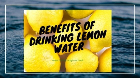 picture of water and lemons
